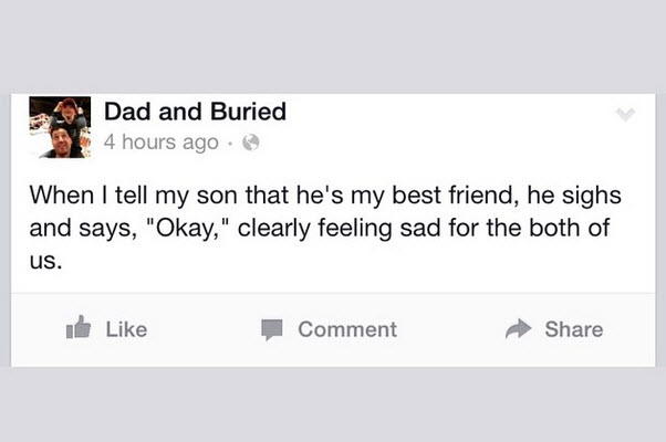 Is it Wrong To Call Your Kids 'Buddy'? - Dad and Buried
