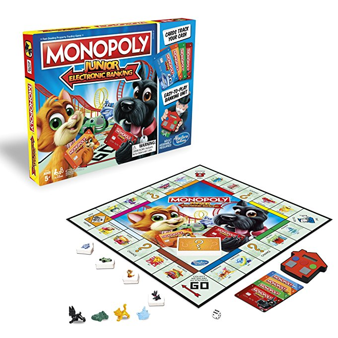 Giveaway! Monopoly Junior: Electronic Banking Edition - Dad and Buried